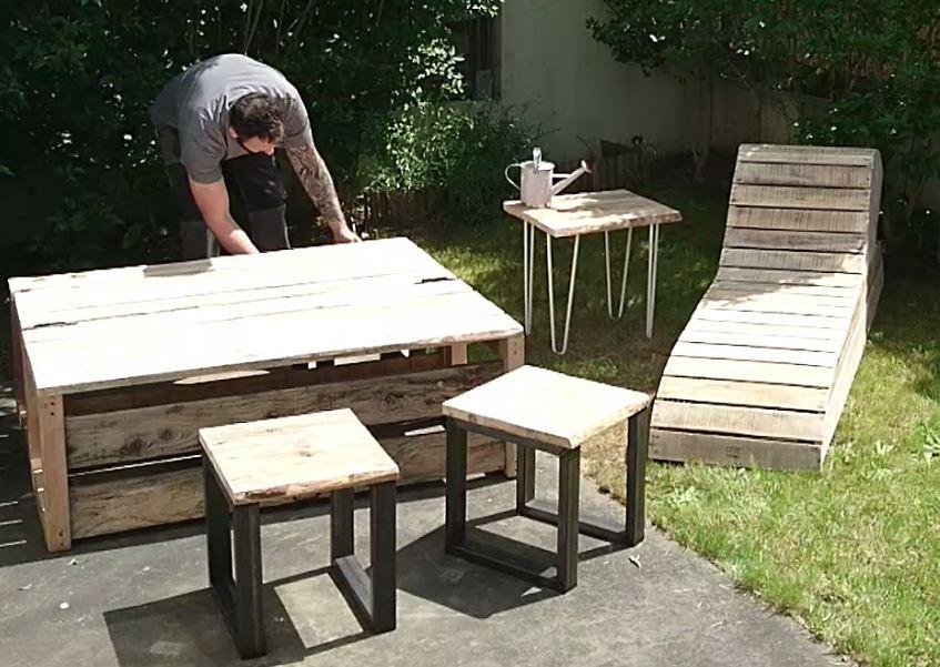 tutos cr ation banc modulable adopteunecaisse. Black Bedroom Furniture Sets. Home Design Ideas